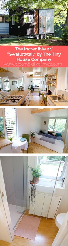 """The Incredible 24' """"Swallowtail"""" by the Tiny House Company"""
