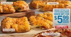 Dominos Pizza Copycat Recipes: Stuffed Cheesy Breads