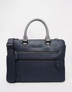 Ted Baker Imbers Document Bag with Contrast Detail