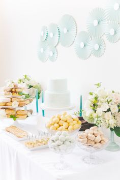 Watercolor Inspired Bridal Shower from Annabella Charles Photography    Read more - http://www.stylemepretty.com/2013/08/23/watercolor-inspired-bridal-shower-from-annabella-charles-photography/