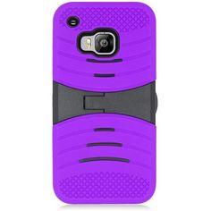 EGC HTC One M9 Case Wave Symbiosis Kickstand - Purple/Black