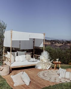 Welcome to St. Tropez California Outfits, California Style, Cabana, Pink Home Decor, Home Landscaping, Outdoor Furniture, Outdoor Decor, House Design, House Styles