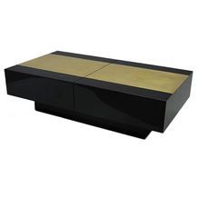 "Flair Limited Edition ""La Segreta"" Concealed Bar Coffee Table"