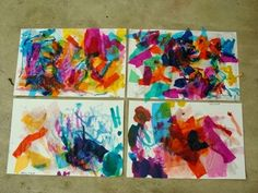 http://artfulparent.com/2009/07/watercolor-painting-over-tissue-paper-collage.html