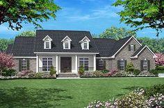 Plan 11712HZ: Elegant 4 Bedroom House Plan with Options