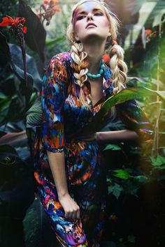 Very gorgeous printed dress