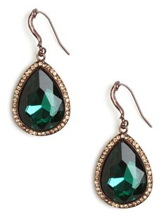 lovely + bold - our emerald titanic drops!