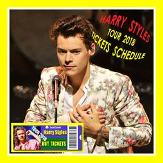 Harry Styles - The easiest way to buy concert tickets (seller – SeatGeek). 2018 Tour dates - Tickets and Tour Schedule. Due to overwhelming demand, Styles has added 56 new tour stops across Europe, Asia, Australia, South America, and North America, returning to some of the sold-out stops from the tour's first leg and making new trips, as well.  Styles' tour will resume in Basel, Switzerland in March 2018 and will end in L.A. in July 2018. Styles will be joined by country singer Kacey…