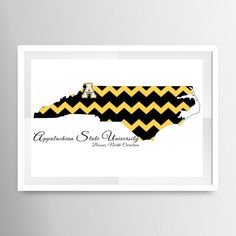 Limited edition North Carolina custom print. by TheQCcreations