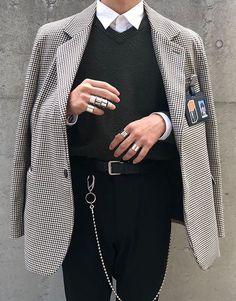 300651297 Indie Fashion, Boy Fashion, Fashion Looks, Mens Fashion, Fashion Outfits,  High