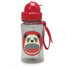 Mini Chatterbox Online Store :: Skip Hop Zoo Straw Bottle Panda 350 ml