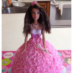 I will never outgrow the Barbie cake.  I want one for every birthday :)