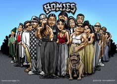 ♥ The Homies Gang ♥ Artist David Gonzales ♥