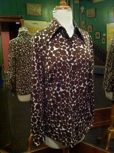 Vintage Polka Dot Blouse Miss Accent ACT by rememberwhenemporium, $10.00