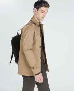 Image 1 of BASIC TRENCH COAT from Zara