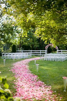 Altar Flowers  Ceremony Style wedding