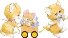 Printable - Cat and Mouse - Ruth Morehead