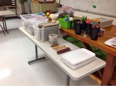 clay organization tips for teachers My High School Art Room