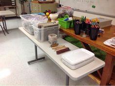 clay organization tips for teachers My High School Art Room