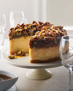 South-of-the-Border Pecan Praline Cheesecake - Neiman Marcus