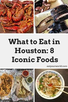 What to Eat in Houston: 8 Iconic Foods. From killer tamales to innovative Viet-Cajun cuisine you don't want to miss these 8 essential dishes in Houston. Unique Recipes, Indian Food Recipes, Ethnic Recipes, Cajun Crawfish, Recipe Icon, Houston Food, Cajun Recipes, Tamales, World Recipes
