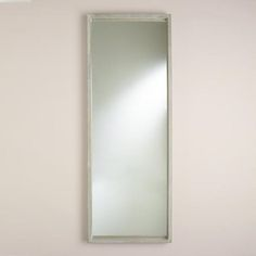 One of my favorite discoveries at WorldMarket.com: Gray Rectangular Camden Mirror