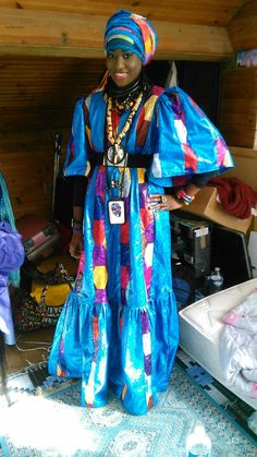 Black Child, Black Kids, African Women, African Fashion, Baye Fall, French West Africa, Africans, African Dress, Black Art