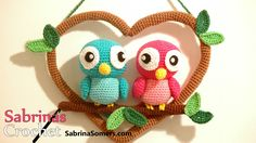 Pattern can be found at Ravelry: http://www.ravelry.com/patterns/library/love-birds-2 Please visit my website for more (free) patterns: SabrinaSomers.com