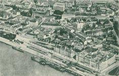 Nabrezie Dunaja okolo roku 1920 Bratislava, City Photo, Times