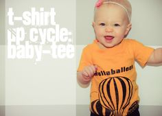 the winthrop chronicles: t-shirt up cycle: a baby tee