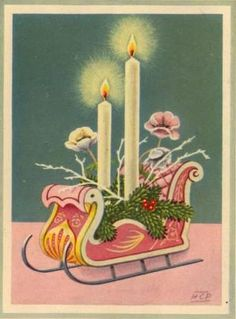 Merry Christmas Lights 1957 | Flickr - Photo Sharing!