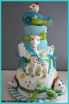 1000 images about sophie de giraf luiertaart on pinterest - Combien de couche de primer ...