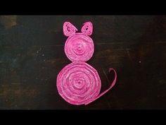 Tutorial: Cómo hacer Gatitos con palitos de papel - YouTube
