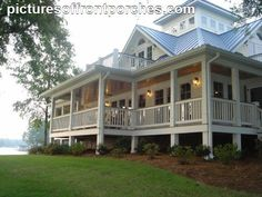 Dream house Southern Cottage, Southern House Plans, Coastal Cottage, Southern Living, Southern Charm, Southern Homes, Southern Style, Simply Southern, Coastal Living