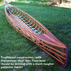 The best online retailer of boat building supplies, hardware and tools Canoe Plans, Boat Plans, Canoe And Kayak, Kayak Fishing, Canoe Trip, Fishing Boats, Wood Canoe, Wooden Boat Building, Best Boats