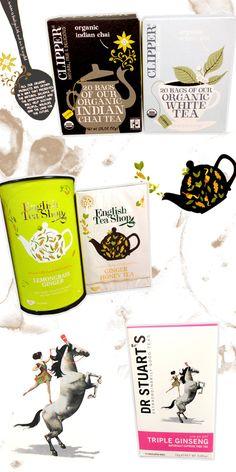 Tea Packaging Design Inspiration