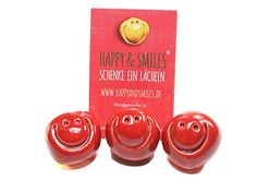 Smiley 3er Set rot HAPPY & SMILES® - Schenke ein Laecheln https://www.amazon.de/dp/B077B5ZPKZ/ref=cm_sw_r_pi_dp_x_-Y1bAb0VXKVKE