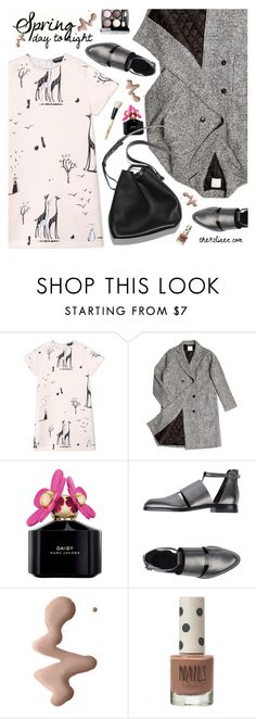 """""""Spring day to night outfit"""" by the92liner ❤ liked on Polyvore featuring Rochas, ssongbyssong, Marc Jacobs, Alexander Wang, 3.1 Phillip Lim, Chanel, Topshop, Bobbi Brown Cosmetics and daytoevening"""