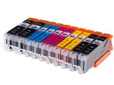 10 Tusze XXL do CANON Pixma IP7250 MG5650 MG5550