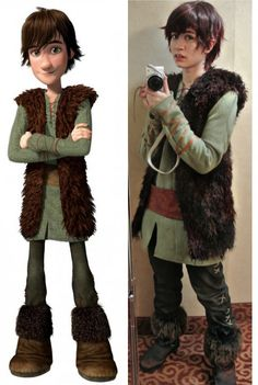 Costume guide for astrid of the second movie of how to train your how to train your dragon 2 project hiccup by jii kickstarter hiccup costumeastrid ccuart Image collections