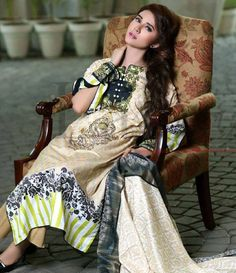 Lala Classic Cotton Embroidered lawn Suits Vol 1. CCE_07A