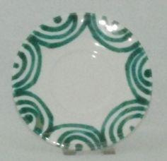 Gmundner Keramik - Grüngeflammt - Untertasse