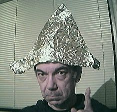 Tin Foil Hat -  Used to shield the brain from such influences as electromagnetic fields and mind control, this snazzy head gear will prevent other poker players from reading your mind around the felt. A must for any serious player!