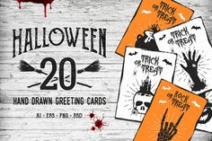 Halloween 20 #Greeting #Cards - http://luvly.co/items/5327/Halloween-20-Greeting-Cards