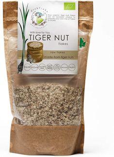 Drobtinka Tigernut Flakes, 300g, Raw and Organic: Amazon.co.uk: Grocery Cereal Mix, Organic Brand, Plant Based Milk, Muesli, Nut Free, Raw Vegan, Organic Recipes, Flakes, Paleo
