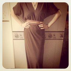 DIY maxi dress from a Sweet Verbena Blog tutorial
