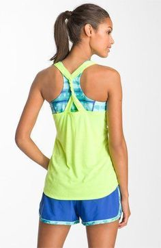 Cute running clothes - Nordstrom, Under Armour http://www.FitnessGirlApparel.com