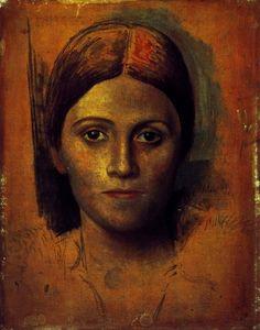Pablo Picasso. Portrait de Olga Kokhlova. 1918 year
