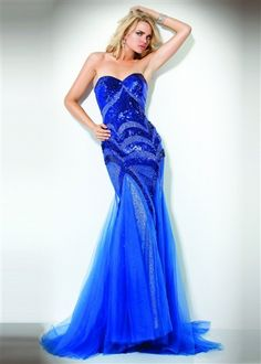 Jovani Mermaid Sequin Prom Dress 153050