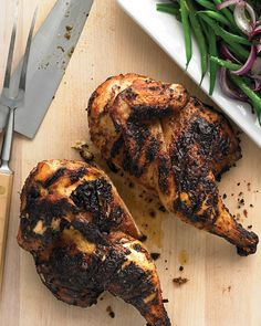 Emeril's Caribbean Chicken - sweet and spicy marinade for grilled chicken @Robert N Brandi Castillo- let's try this on our next grilled chicken night!